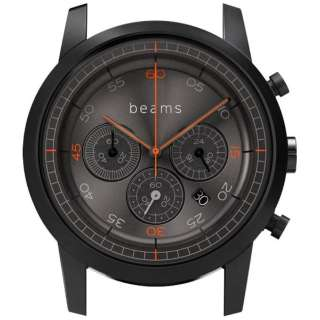 ハイブリッドスマートウォッチ wena wrist Chronograph Premium Black BD beams edition WN-WC03B-H