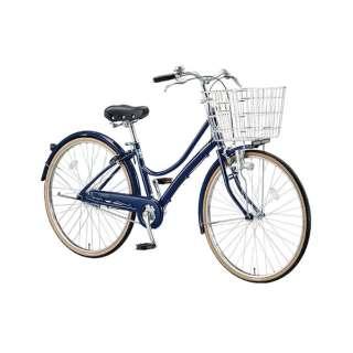 26型 自転車 エブリッジL(E.Xノーブルネイビー/シングル) EB60L【2017年モデル】 【組立商品につき返品不可】