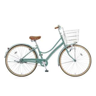 26型 自転車 エブリッジL(E.Xモダングリーン/シングル) EB60L【2017年モデル】 【組立商品につき返品不可】