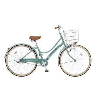 27型 自転車 エブリッジL(E.Xモダングリーン/シングル) EB70L【2017年モデル】 【組立商品につき返品不可】