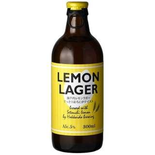 北海道 レモンラガー 300ml 6本【発泡酒】