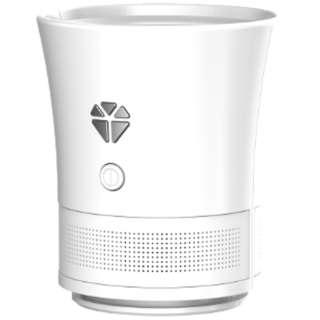 OFJ-2017-001-W ブルートゥース スピーカー Cork speaker(コルクスピーカー) Ghost White [Bluetooth対応]