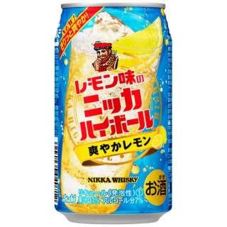 レモン味のニッカハイボール (350ml/24本)【缶チューハイ】