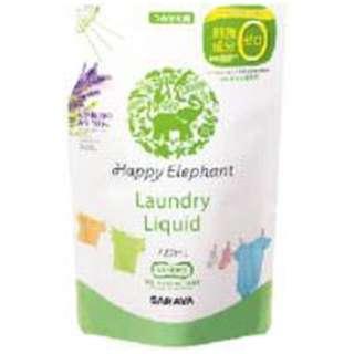 サラヤ ハッピーエレファント 液体洗たく用洗剤 つめかえ用 720ml