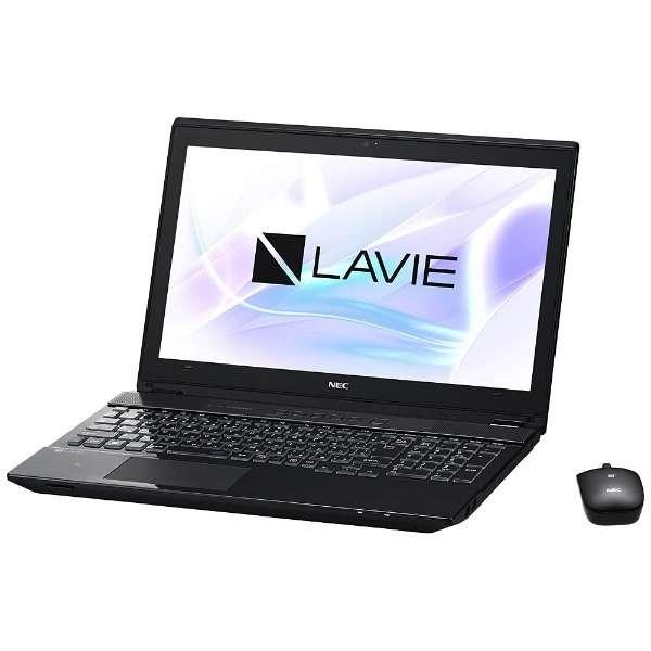 PC-NS850HAB ノートパソコン LAVIE Note Standard クリスタルブラック [15.6型 /intel Core i7 /HDD:1TB /メモリ:8GB /2017年7月モデル]