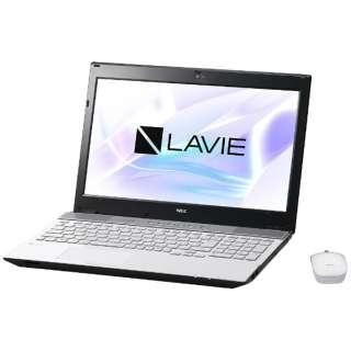 PC-NS750HAW ノートパソコン LAVIE Note Standard クリスタルホワイト [15.6型 /intel Core i7 /HDD:1TB /メモリ:8GB /2017年7月モデル]