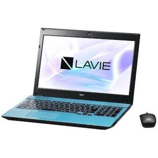 PC-NS750HAL ノートパソコン LAVIE Note Standard クリスタルブルー [15.6型 /intel Core i7 /HDD:1TB /メモリ:8GB /2017年7月モデル]