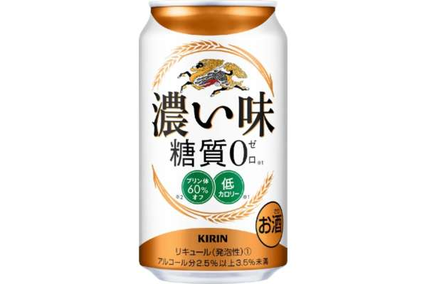 キリン「濃い味 糖質0(新ジャンル)」350ml/24本