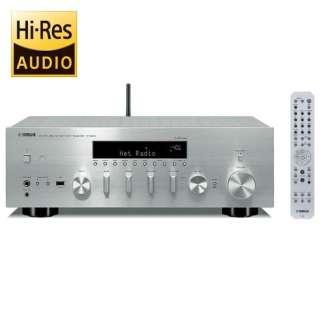 【ハイレゾ音源対応】ネットワークレシーバー(シルバー) R-N803(S)【ワイドFM対応】