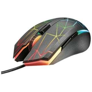 有線光学式ゲーミングマウス[USB ・Win] GXT 170 Heron RGB Mouse (6ボタン・ブラック) 21813