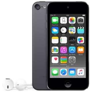 iPod touch 【第6世代 2015年モデル】 128GB スペースグレイ MKWU2J/A