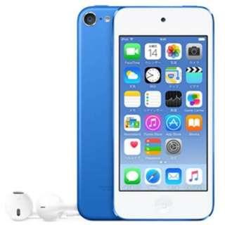 iPod touch 【第6世代 2015年モデル】 128GB ブルー MKWP2J/A