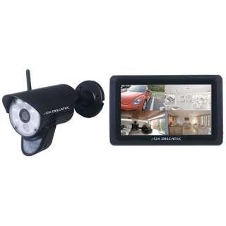 【要見積り】 【屋外用】フルHDワイヤレスカメラ&タッチパネルモニターセット WSC610S
