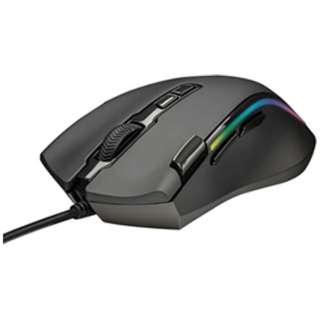 有線光学式ゲーミングマウス[USB・Win]GXT 188 Laban RGB Mouse(7ボタン・ブラック) 21789