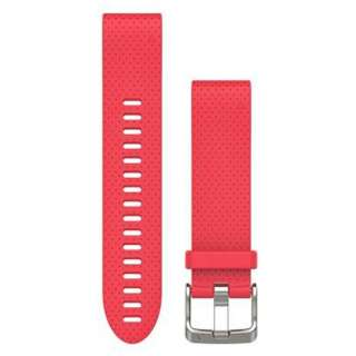 fenix5s用ベルト交換キット QuickFit Red 010-12491-22
