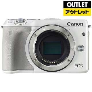 【アウトレット品】 EOS M3 ミラーレス一眼カメラ ホワイト [ボディ単体] 【生産完了品】