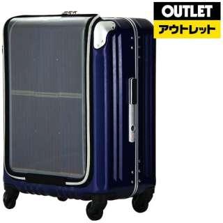 【アウトレット品】 スーツケース 40L TRAVEL SOLAR(トラベルソーラー) ネイビー 6706-47-NV [TSAロック搭載] 【数量限定品】