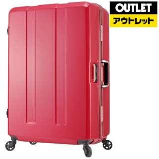 【アウトレット品】 重量チェック機能付きフレームスーツケース H092MPマゼンタピンク 670370MP (92L) 【数量限定品】