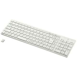 SKB-WL26W キーボード ホワイト [USB /ワイヤレス]