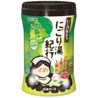 いい湯旅立ち ボトル にごり湯紀行 森の香り(600g) [入浴剤]