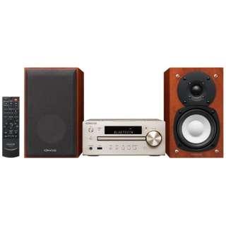 【ハイレゾ音源対応】Bluetooth対応 ミニコンポ(ゴールド) K-515-N 【ワイドFM対応】
