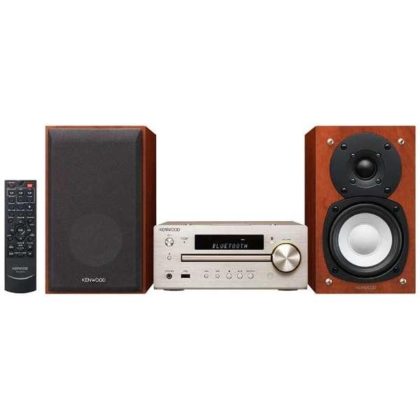 【ハイレゾ音源対応】Bluetooth対応 ミニコンポ(ゴールド) K-515-N 【ワイドFM対応】 [ワイドFM対応 /Bluetooth対応 /ハイレゾ対応]