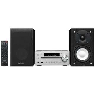 【ハイレゾ音源対応】Bluetooth対応 ミニコンポ(シルバー) K-515-S 【ワイドFM対応】