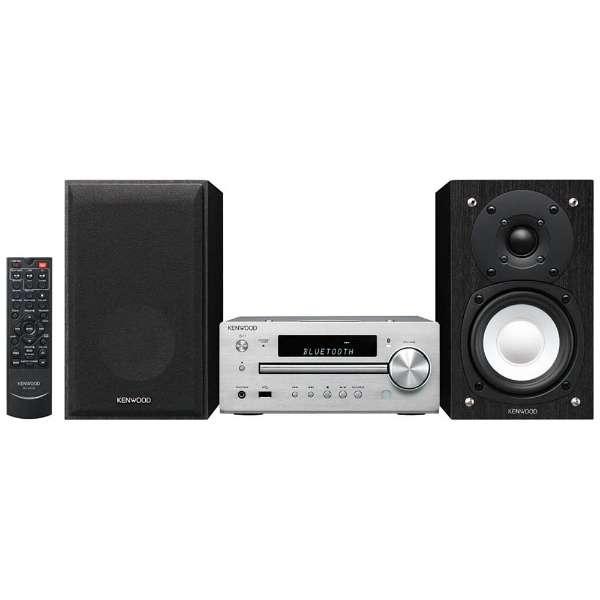 【ハイレゾ音源対応】Bluetooth対応 ミニコンポ(シルバー) K-515-S 【ワイドFM対応】 [ワイドFM対応 /Bluetooth対応 /ハイレゾ対応]