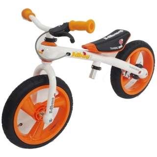 ランニングバイク TRANING BIKE(オレンジ/Airタイヤ) TC-09A【ブレーキ付き】