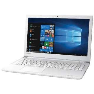 PTE5DWP-RJA ノートパソコン dynabook (ダイナブック) リュクスホワイト [15.6型 /intel Core i3 /HDD:1TB /メモリ:4GB /2017年8月モデル]