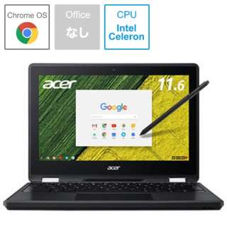 R751TN-N14N ノートパソコン Chromebook Spin 11 オブシディアンブラック [11.6型 /intel Celeron /eMMC:32GB /メモリ:4GB /2017年8月モデル]