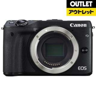 【アウトレット品】 ミラーレス一眼カメラ  EOS M3 [ボディ単体] ブラック 【展示品】箱なし