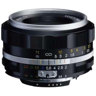 カメラレンズ 40mm F2 SL II CPU付きニコンAi-sマウント ULTRON(ウルトロン) シルバーリム [ニコンF /単焦点レンズ]