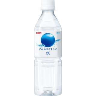 アルカリイオンの水 (500ml/24本)【ミネラルウォーター】