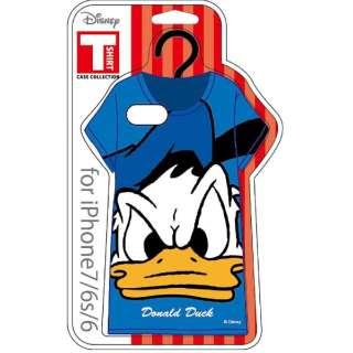 iPhone 7 / 6s / 6用 Disney Tシャツ型ケース ドナルドダック TC7ディズニー03