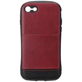 iPhone 7用 タフポケットケース レッド PG-16MCA17RD