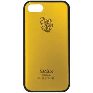 iPhone 7用 Mモデリング アルミケース SUPER MARIO ゴールド スーパーマリオ01 MAC7