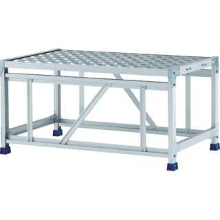 アルインコ 作業台(天板縞板タイプ)1段 CSBC151WS