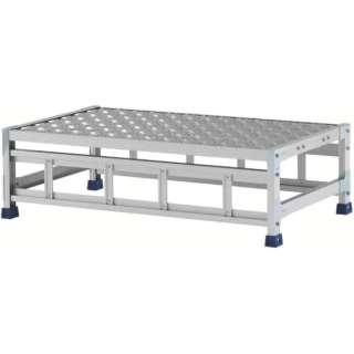 アルインコ 作業台(天板縞板タイプ)1段 CSBC131WS
