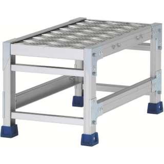 アルインコ 作業台(天板縞板タイプ)1段 CSBC133WS