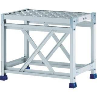 アルインコ 作業台(天板縞板タイプ)1段 CSBC146S