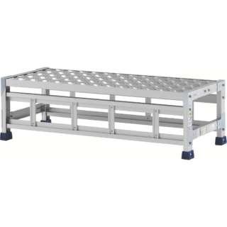 アルインコ 作業台(天板縞板タイプ)1段 CSBC131S