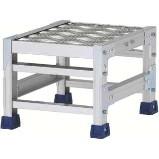 アルインコ 作業台(天板縞板タイプ)1段 CSBC123S