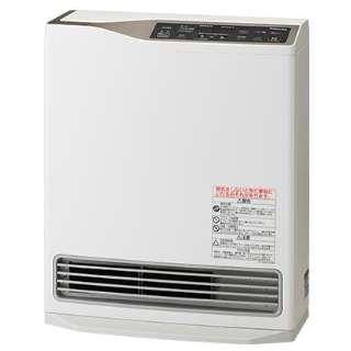 140-8073 ガスファンヒーター Deluxe model(デラックスモデル) ホワイト [木造9畳まで /コンクリート13畳まで /都市ガス12・13A]