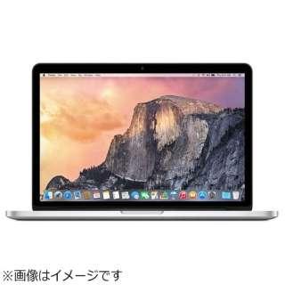MacBookPro 13インチ USキーボードモデル[Early 2015/SSD 128GB/メモリ 8GB/2.7GHzデュアルコア Core i5]シルバー MF839JA/A
