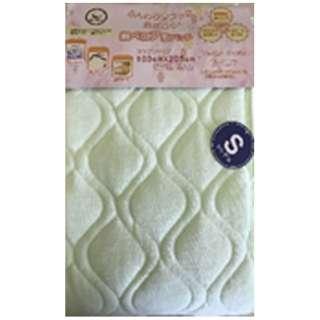 【敷パッド】綿ベロア セミダブルサイズ(120×205cm/グリーン)