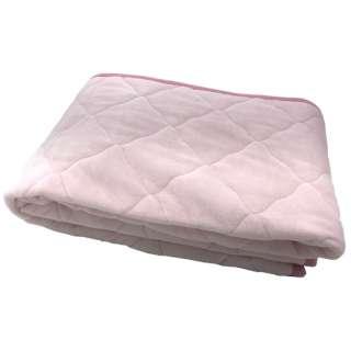【敷パッド】綿ベロア シングルサイズ(100×205cm/ピンク)