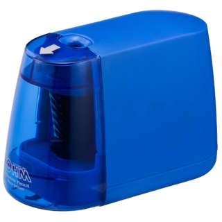 電動えんぴつ削り(乾電池式) JIM-E01-A (ブルー)