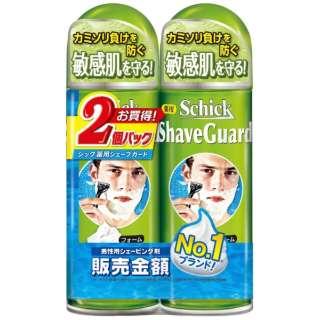 Schick(シック) 薬用シェーブガードシェービングフォーム200gWパック 〔シェービングジェル・フォーム〕