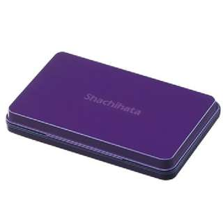 [スタンプ台] シャチハタ スタンプ台 (大形/紫)HGN-3-V